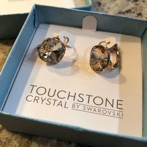 Touchstone Crystal By Swarovski Earrings